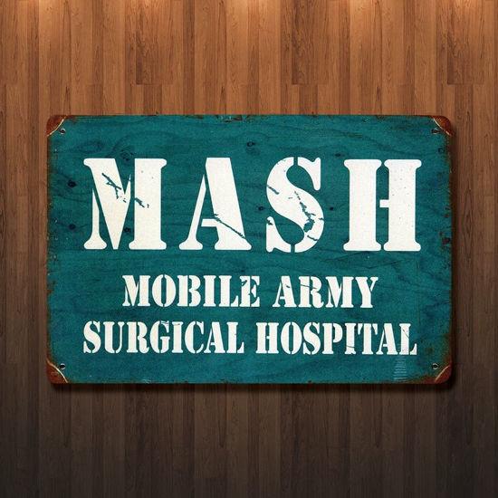 Vintage Style MASH Metal Sign