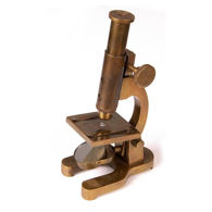Historical Replica Brass Microscope