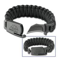 Black Para-Claw Bracelet w/ Blade
