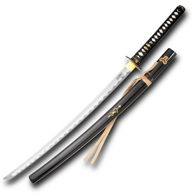 Hattori Hanzo Bride Sword with Saya Lacquered Scabbard