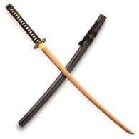 Golden Katana with Black Laquer Wood Saya