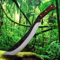 Condor Engineer Bolo Machete with sharp, hand forged high carbon steel blade