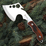 Elk Ridge Multi-Purpose One Piece Hatchet with laminate scales