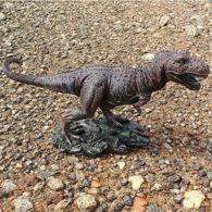 Tyrannosaurus Rex Cold Cast Resin Statue
