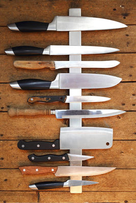 Types of knife handle materials
