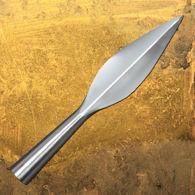 Javelin Head  Light Spearhead in Tempered Steel