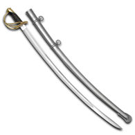 Civil War Replica 1840 Heavy Cavalry Saber by Windlass Steelcrafts with Steel Sheath