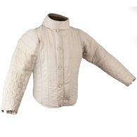 Canvas grade cotton fencing jacket with thick padding and Velcro closure