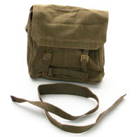 issued condition British military surplus canvas haversack, ideal for re-enactors or for use in the garden, field, or woods