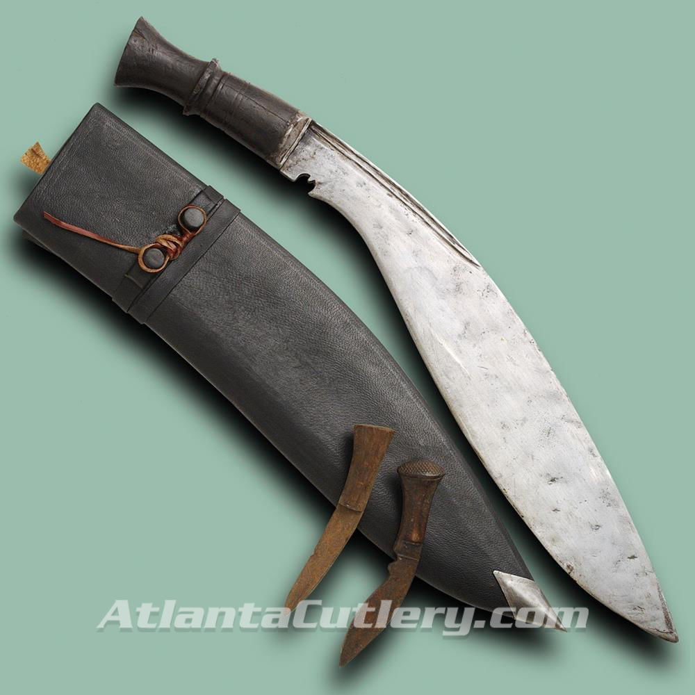Longleaf Traditional Kukri with Reproduction Scabbard