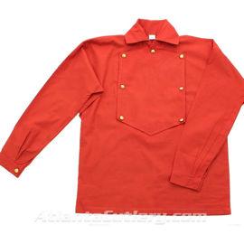 Civil War Fireman's Shirt - Red