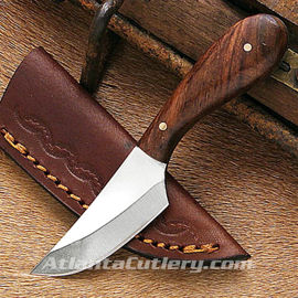 Medium Small Game Patch Knife with Leather Sheath