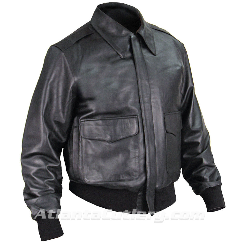 Picture of A-2 Leather Flight Jacket US Government Spec