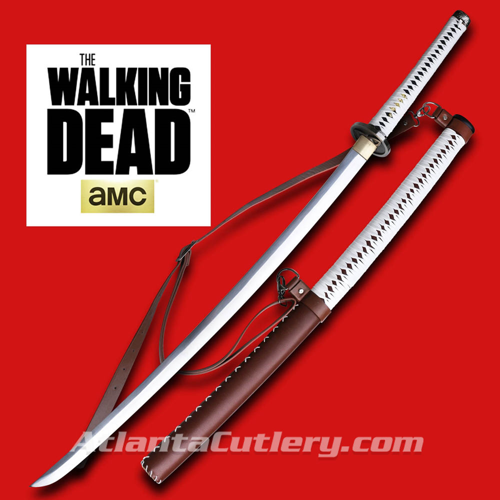 Walking Dead Michonne Katana Swords with Scabbard