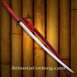 Kagemusha Crimson Katana Swords