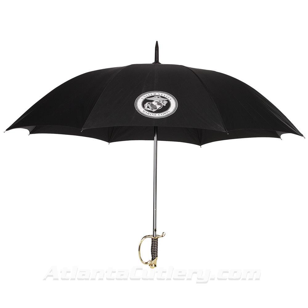 Picture of US Marine Corps NCO Umbrella