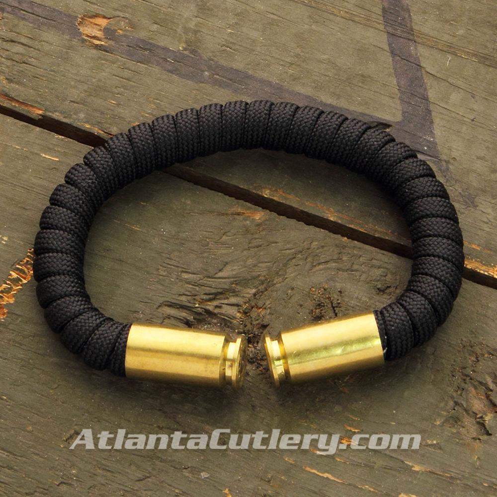 Picture of Spent Bullet Casing Paracord Bracelet