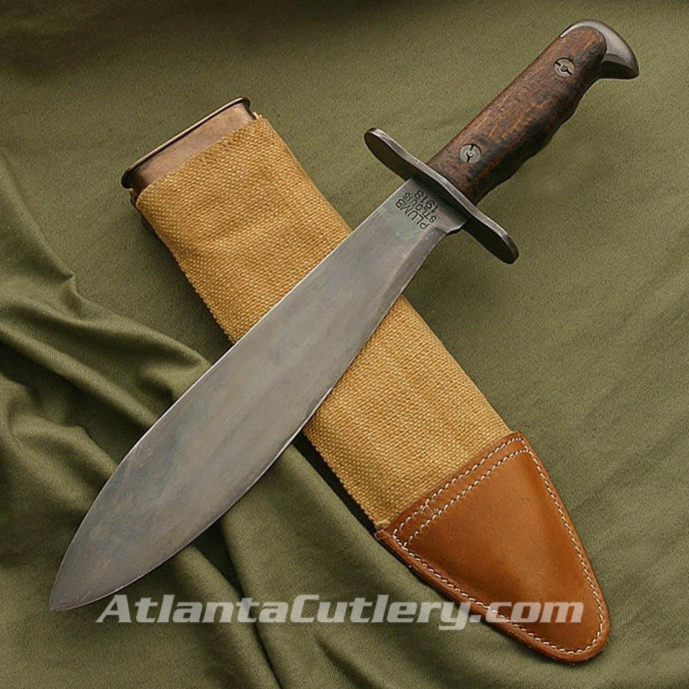 US Model 1917 Bolo Knife with Scabbard