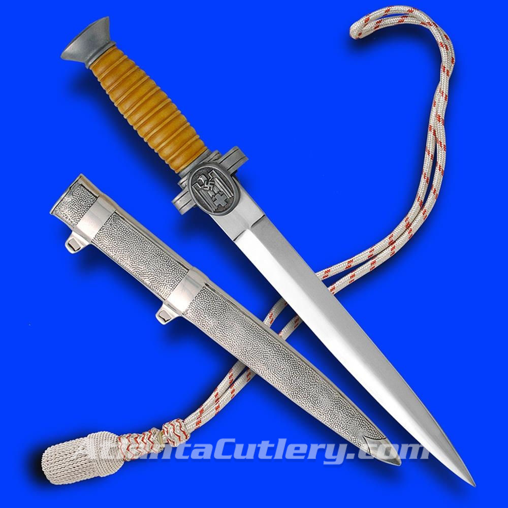 German DRK Officer Dagger with Scabbard