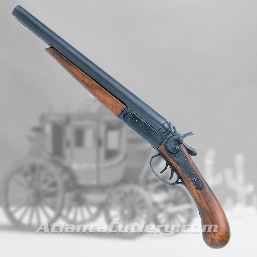 "Double Barreled ""Sawed-Off"" Stagecoach Shotgun"