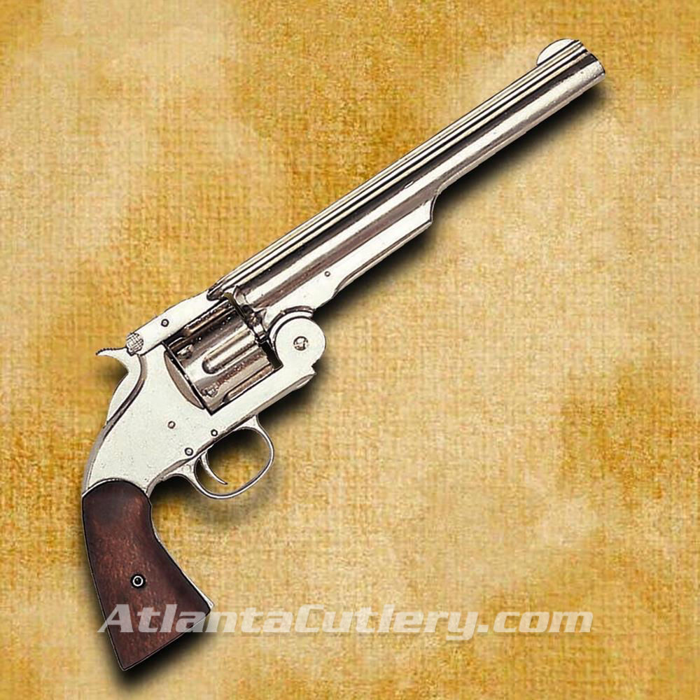 Model 1869 Schofield Style Nickel Revolver