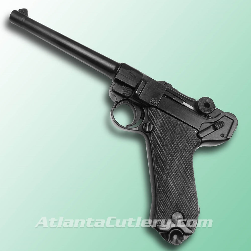 P-08 German Luger Naval Parabellum with Black grips