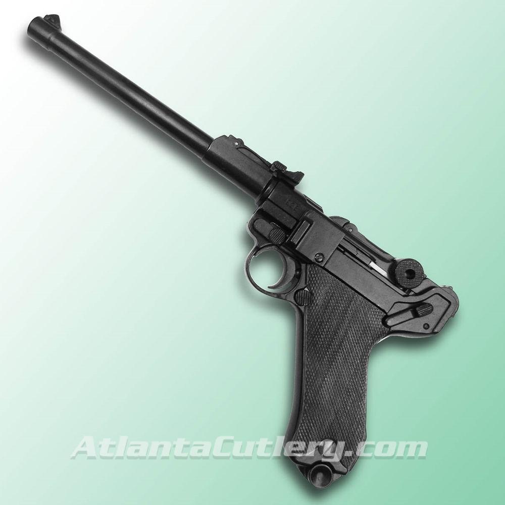 German Luger Lange Artillery pistol