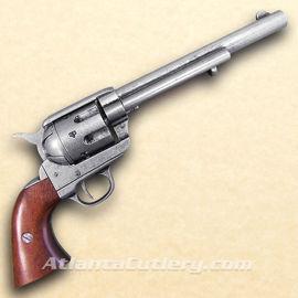 Picture of 1873 .45 Caliber Revolver Cavalry Style Antique Grey Finish