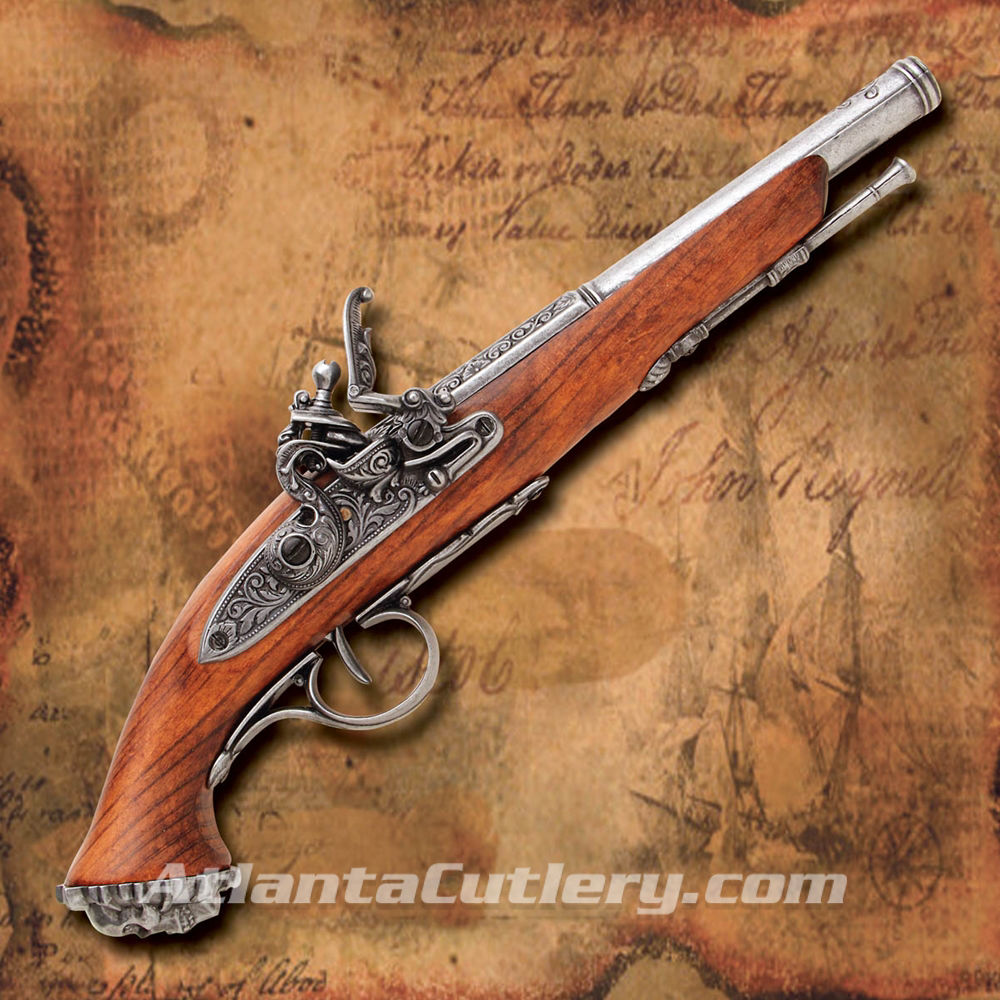 Picture of Death's Head Flintlock Pistol