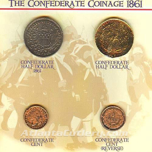 Picture of Confederate Coins of 1861