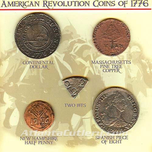 Picture of American Revolution Coins