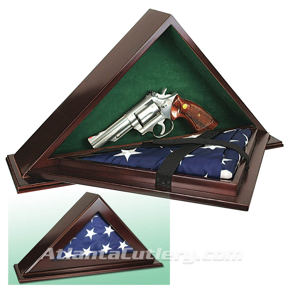 Flag Case with Gun