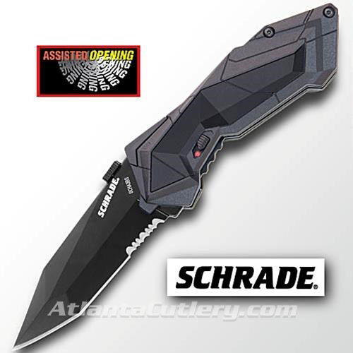 Schrade Stealth Serrated Edge Knife