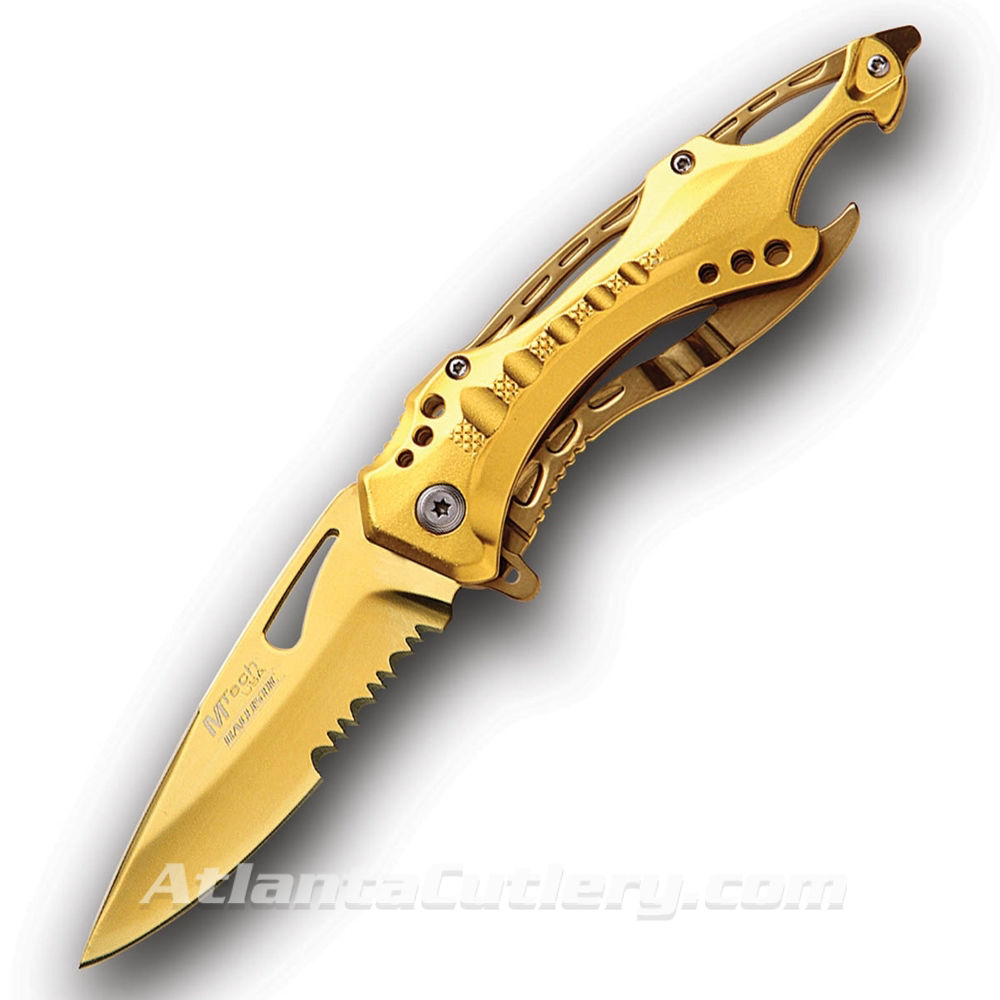 Gold Rush Fantasy Knife by MTech