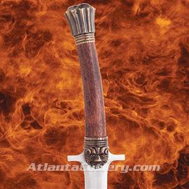 The Valeria's Sword - wooden grip