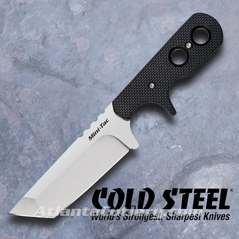 Mini Tac Tanto Neck / Belt Knife by Cold Steel