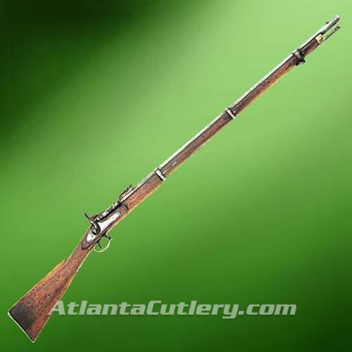 Picture of P-1864 Snider Breech Loading Rifle with English Marks