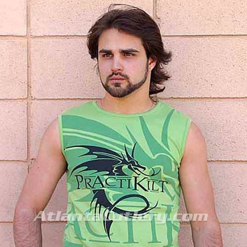 Picture of Green Dragon Sleeveless T-Shirt