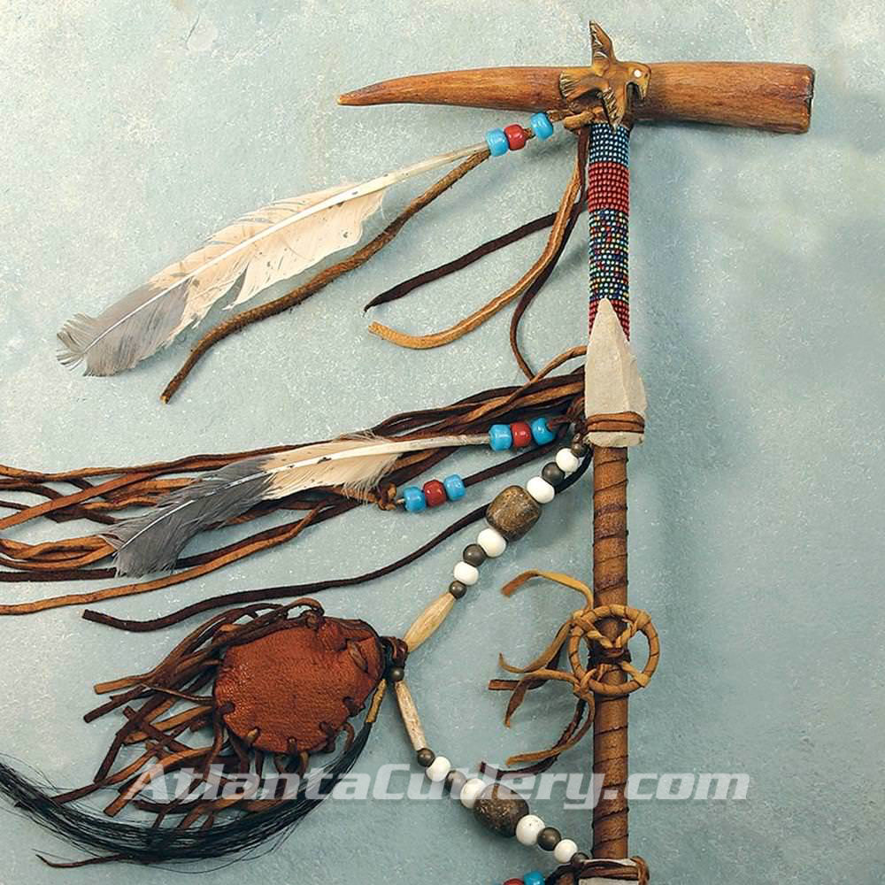 Picture of 14 Inch Antler Calumet Peace Pipe