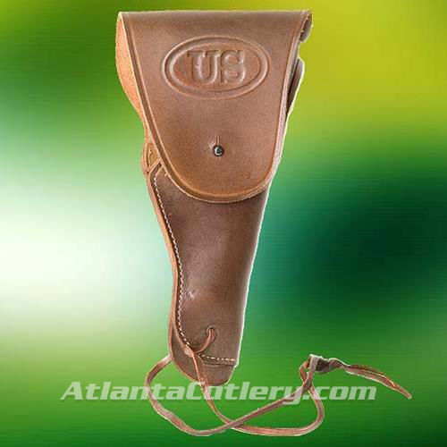 Picture of US Military Beretta 92, Glock & Gold Cup Style Brown Holster