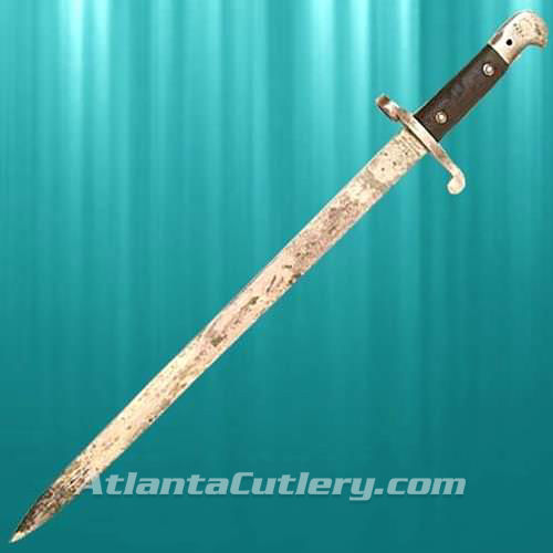 Picture of P-1887 Mk III Bayonet with Brass Mount Scabbard