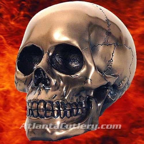 Picture of Bronze Skull