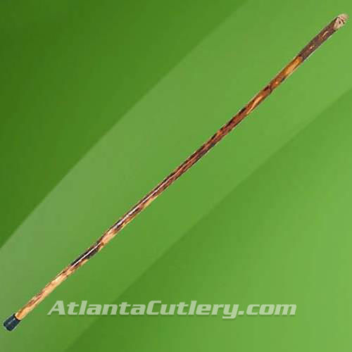 """Picture of Ozark Hickory """"Whistle Stick"""" Root Cane"""