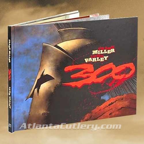 "Picture of Frank Miller's ""300"" Hardcover Novel"