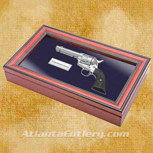 Picture of Bat Masterson Non Firing Revolver with Display Box