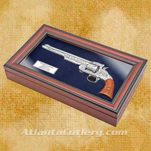 Picture of Wyatt Earp Non Firing Revolver with Display Box