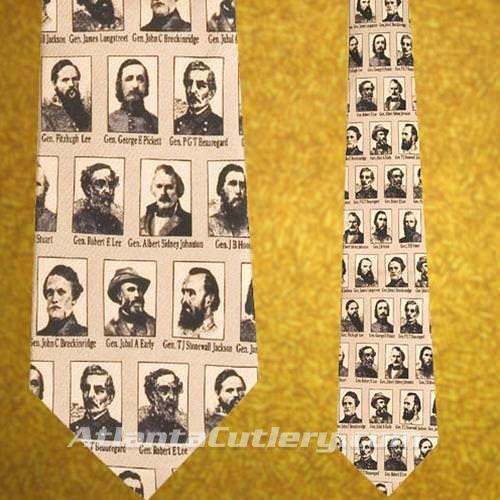 Picture of Portraits of Confederate Generals Silk Tie