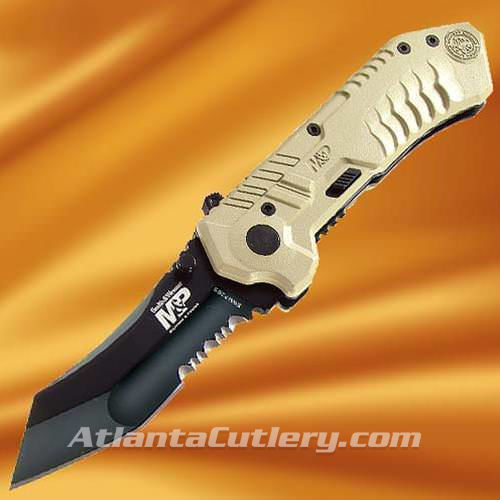 Picture of Smith & Wesson M&P Desert with Blackened Blade