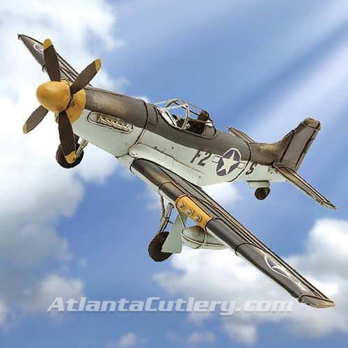 Picture of P-51 Mustang WWII Fighter Plane