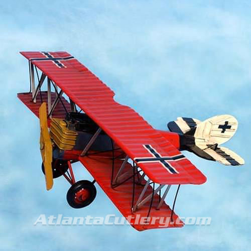 Picture of WWI German Fighter Plane Tin Toy Replica